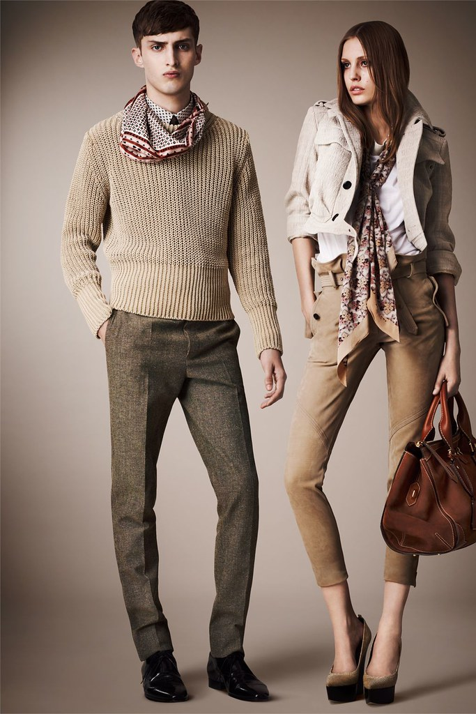 Charlie France0267_Burberry Prorsum's Pre-​​Spring 2013 Collection(Homme Model)