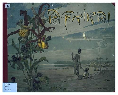 001-Portada-Afrika  Studien und Einfaelle eines Malers 1895- Hans R. von Volkmann- Universitätsbibliotheken Oldenburg