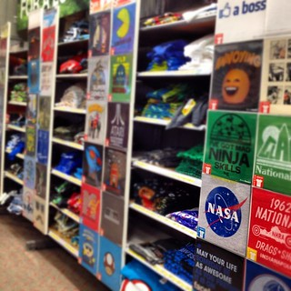 Within all the crazy t-shirts @Target, there is hope for the future! @nasa #nasa
