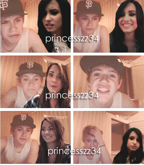 niall horan and demi lovato manip