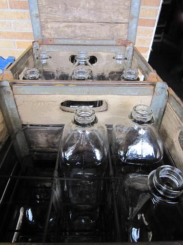 Christiansen's Milk - Glass Bottles