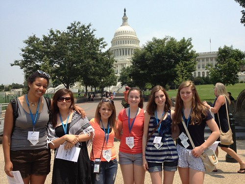 NSLC INTL Students on Capitol Hill