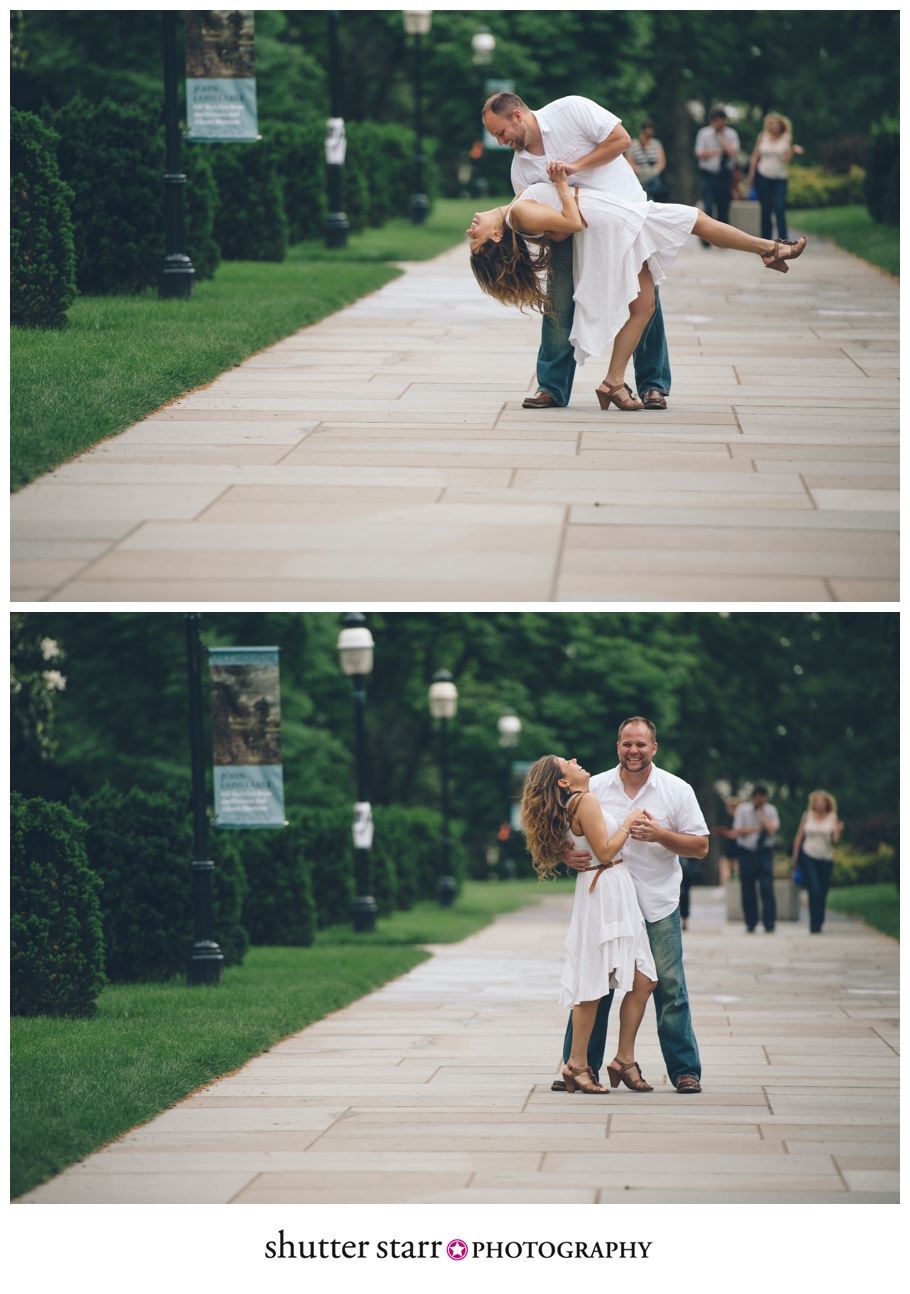 princeton engagement session