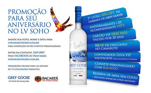 Arte - Promoção de Aniversário LV Soho by chambe.com.br