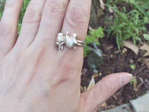 Bunny ring.
