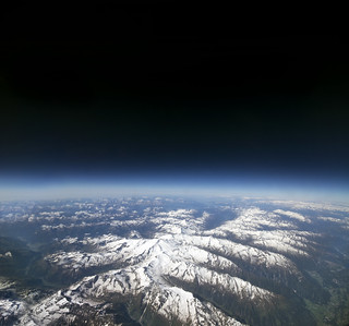 The Alps at 11km ASL [Explore Jun 23rd 2012]