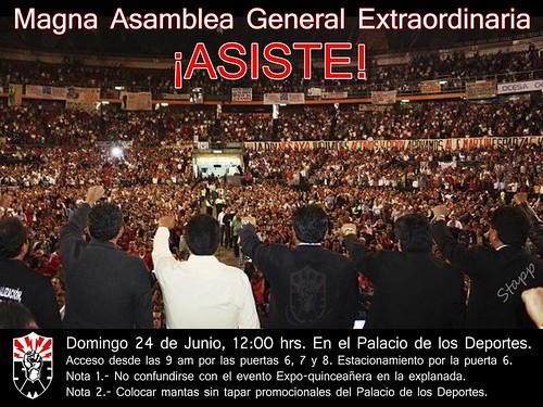Magna Asamblea General Extraordinaria