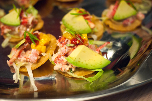 Spicy Lobster Tostadas by Chef Drew Masterman & Lori Andrews