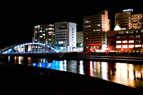 longexposure night river landscape foveon numazu dp2 kanoriver