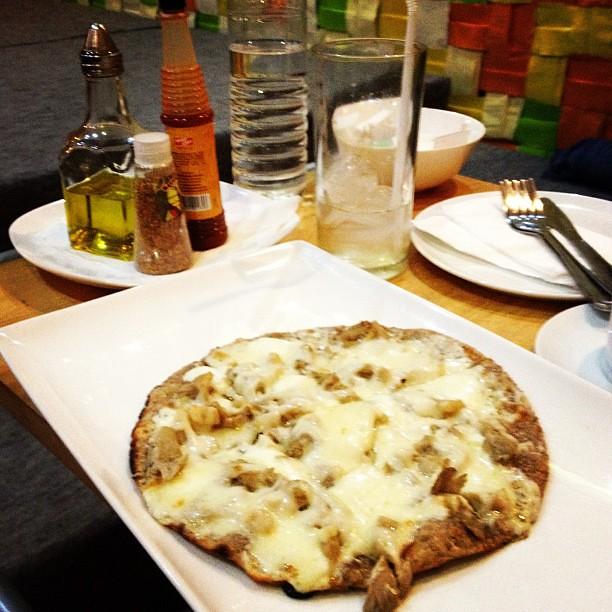 Mushroom Pizza of @QuantumCafe