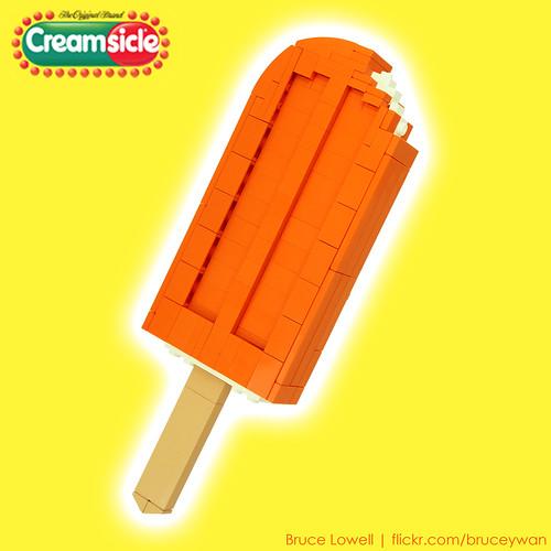 LEGO Creamsicle