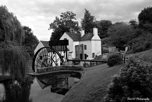 Daniel's Mill in B/W         Eplored 194