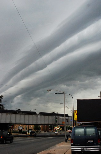 Shelf Cloud over Ogden Ave., 2012