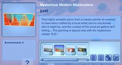Mysterious Modern Masterpiece 2