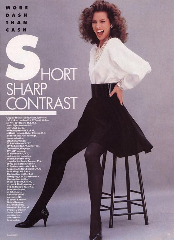 Retrospace Mini Skirt Monday 120 1980s Fashion Mags