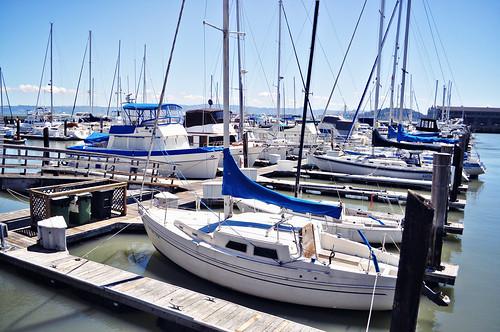 Sailboat Docks at Pier 39 ~ San Francisco, CA