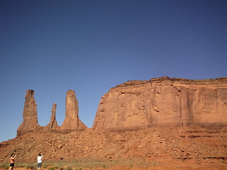 2012 santa fe rock formations 3 sisters monument valley utah