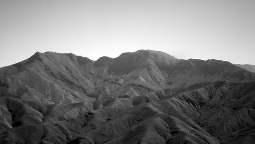Peaks of the High Atlas by manchego_photo