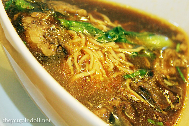 Noodles with Braised Beef Soup P248