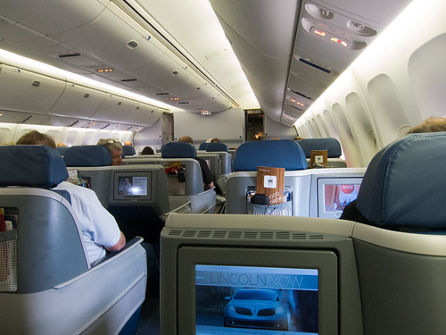 Delta BusinessElite cabin