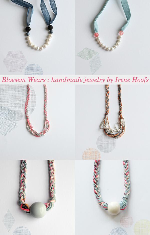 Bloesem Wears : handmade jewellery by Irene Hoofs | Emma Lamb