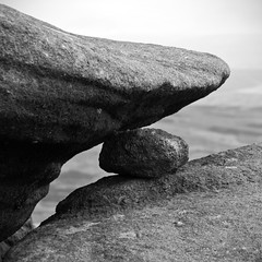 Between a rock and a hard place......