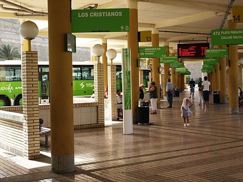 Playa de Las Americas bus station