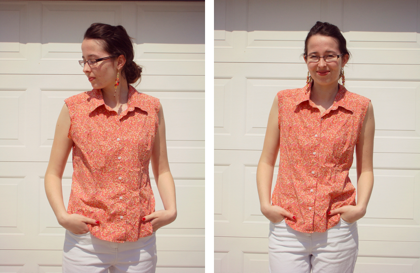 DIY: Refashioning a Blouse