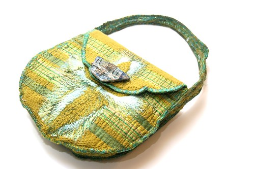 make a bag from old fabrics
