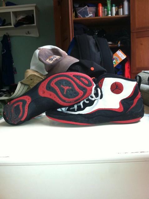 GONE Air Jordan Wrestling Shoes GONE | Flickr - Photo Sharing