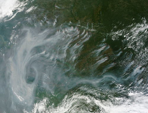 fire russia nasa goddard wildfire