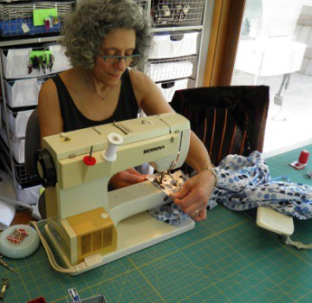 Stiching pajama pant hems using blind hem foot