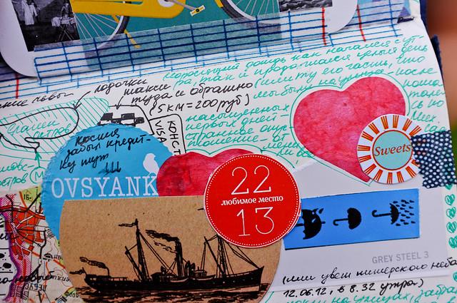 Little art-journal from SPB weekend