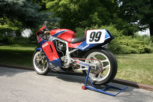 Ex-Goodfellow 1986 Suzuki GSXR-R Racer For Sale by loudbike