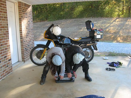 Do you want it hard or soft? (your motorcycle luggage, that is)