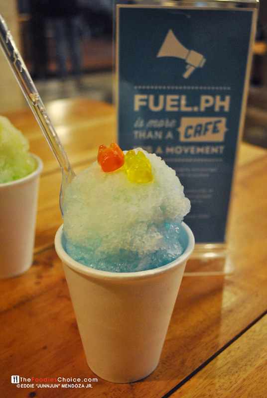 Snowballs at Fuel.ph