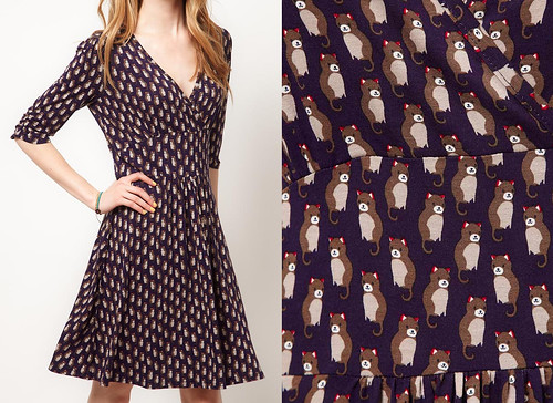 Asos cat dress
