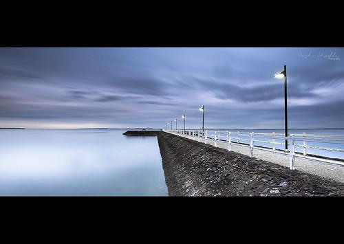 seascape rain sunrise nikon jetty manly overcast australia brisbane qld queensland wynnum leefilters d700 nikond700 nikon1635f4