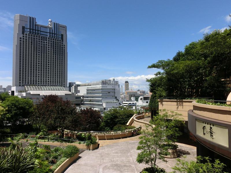Namba Parks, Osaka, Japan