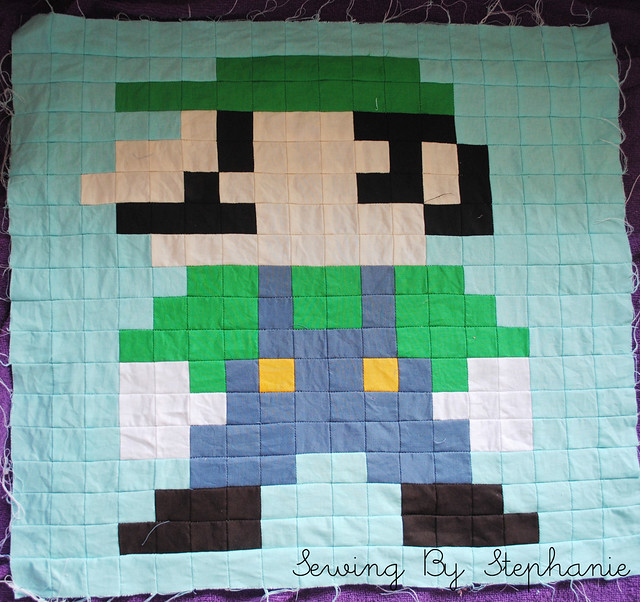 Super Mario Brothers Quilt Along Luigi additionally Elephant as well A Quick Introduction Of Your Tweens Favorite Characters as well 4123863 besides Baby Elephant Coloring Pages. on mario jumping blocks drawing