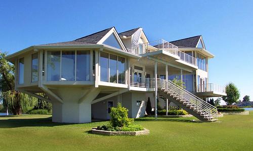 Custom Two Story Prefab Lake House Design By Topsider
