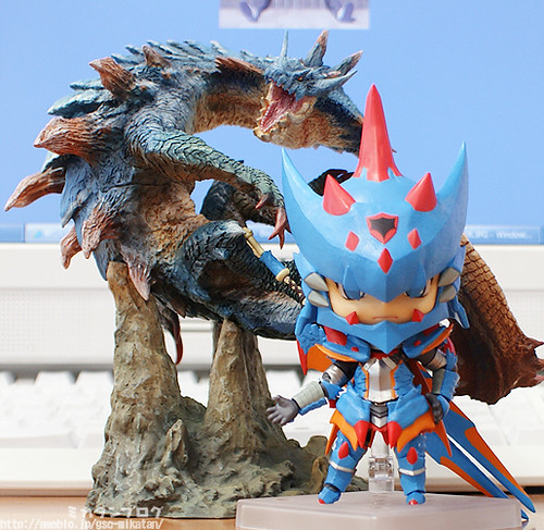 Displayed with Lagiacrus