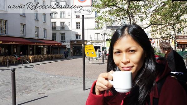 Rebecca saw in paris