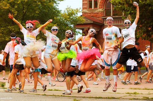 Color Run-Ann Arbor, MI  #flickr12days