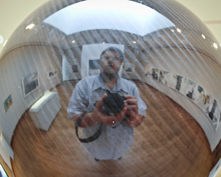 Self Portrait Reflection @ Chazen, #2