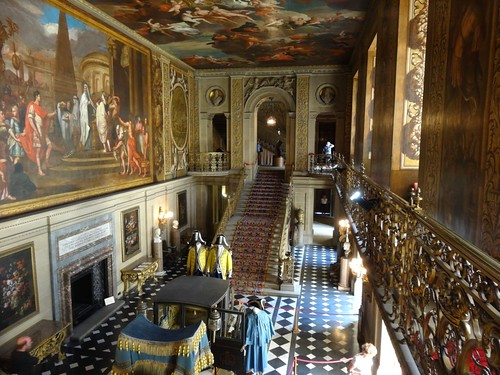The Grand Entry Hall at Chatsworth