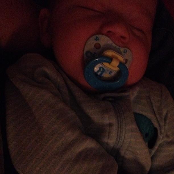 Sleeping Bubbs!
