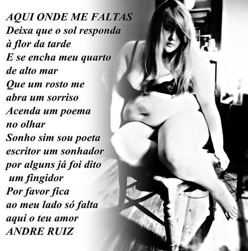 AQUI ONDE ME FALTAS by amigos do poeta