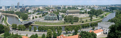 Panorama de Vilnius (Lituanie)