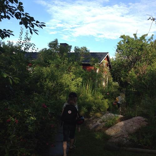 Framme hos mina föräldrar i Öregrund